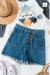 Up To Nothing Denim Shorts