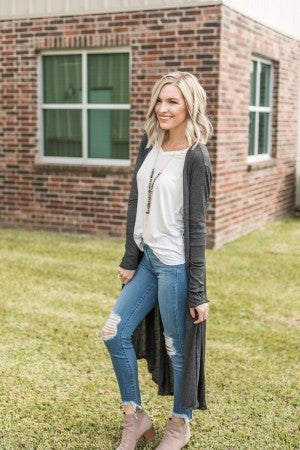 Layering Up Duster