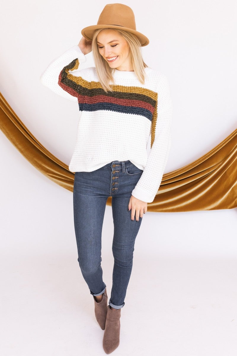 Stripes Forever Sweater