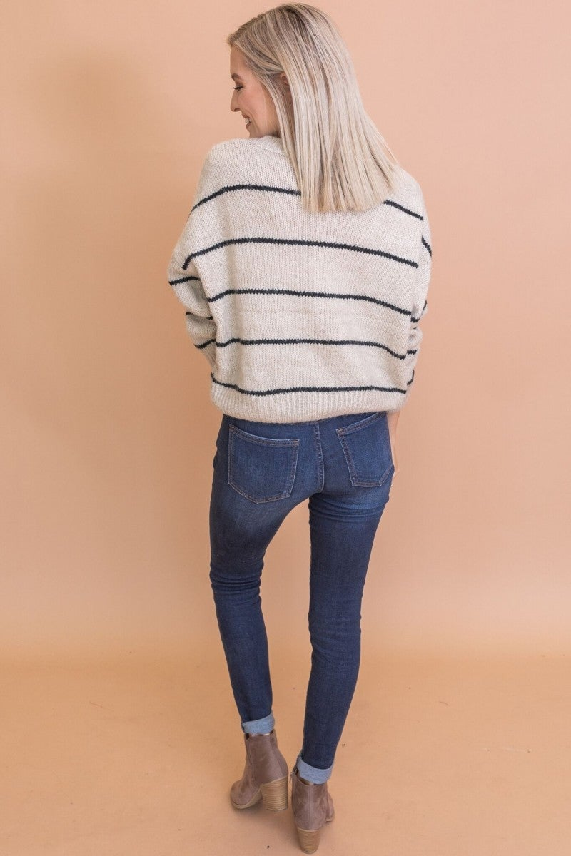 Line it Up Sweater
