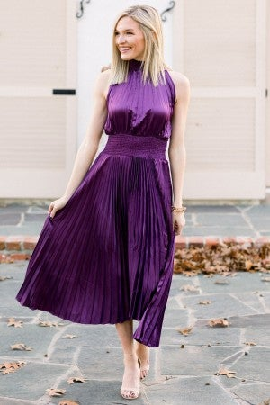 Pleats to Party Dress