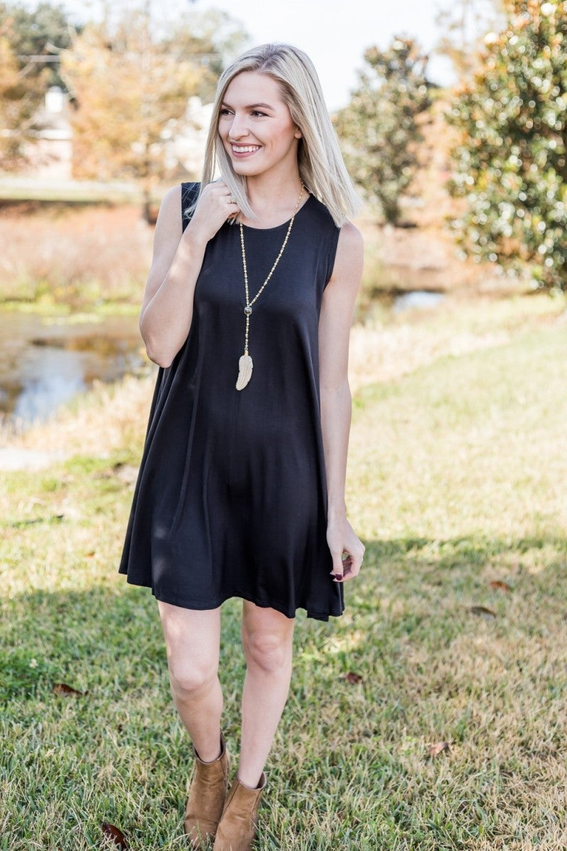 Trapeze in the Moment Dress