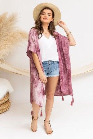 All the Good Vibes Kimono