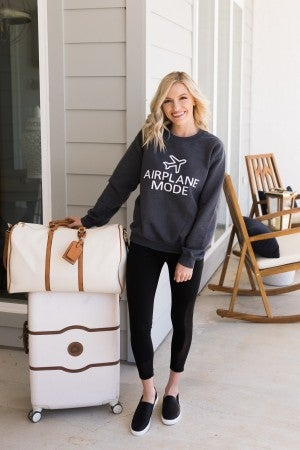 Airplane Mode Sweater *Final Sale*