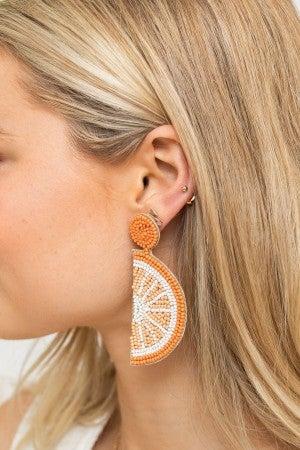 Slice of Citrus Earring