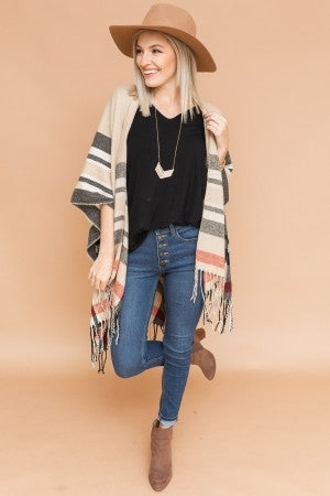 Perfectly Paired Poncho