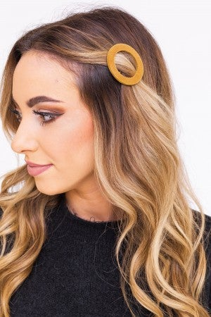 Going in Circles Hairclip