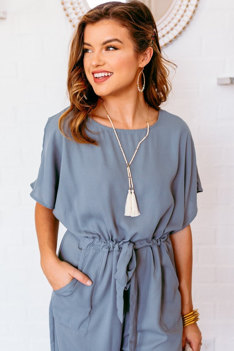 Seen in Summer Jumpsuit