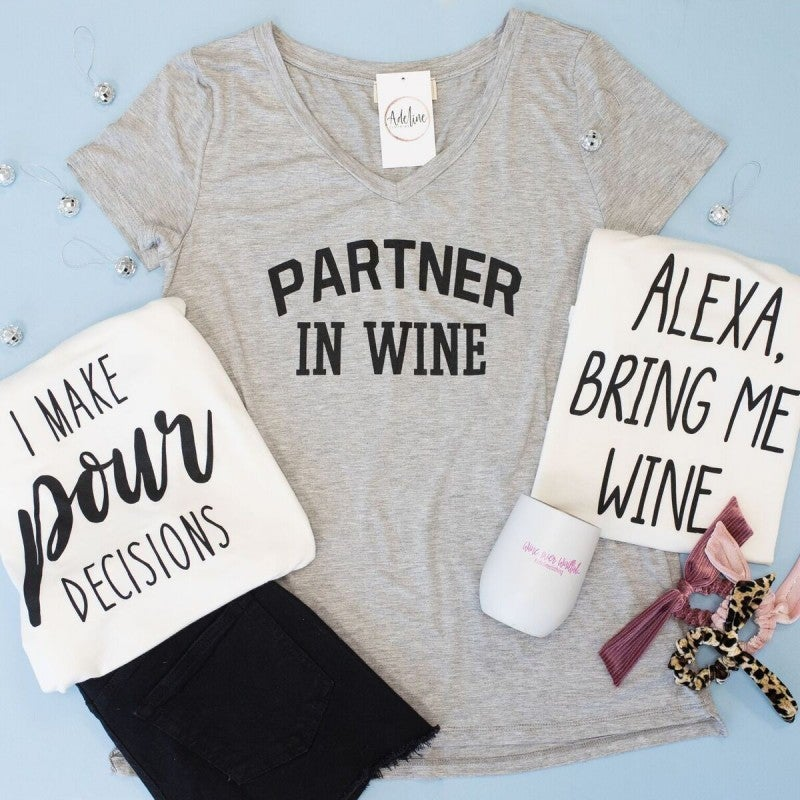 Wine Is The Answer Tee
