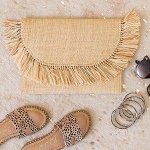 Sand & Sun Clutch