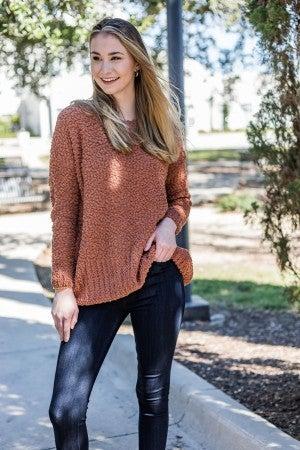 Crisp Air & Coffee Sweater