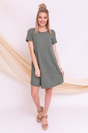Perfect Fit Tee Dress *Final Sale*