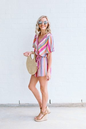Between the Lines Romper