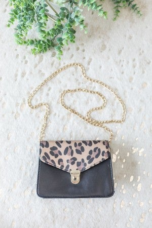 Leap into Leopard Bag