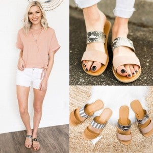Add Something Extra Sandal