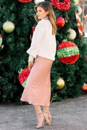 Blushing By Skirt
