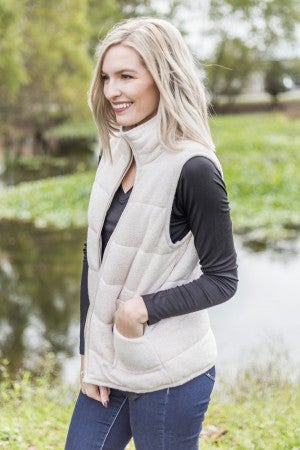 Cold Front Quilted Vest