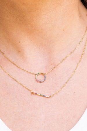 Across the Rainbow Necklace