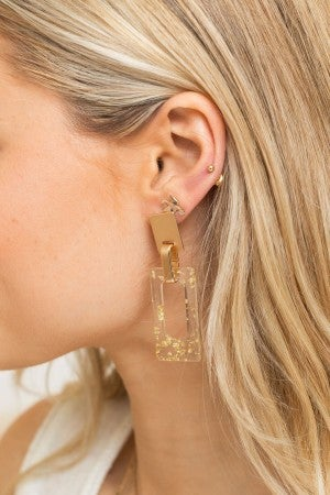 Clear the Way Earring