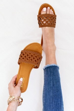 Woven to the Weekend Sandal