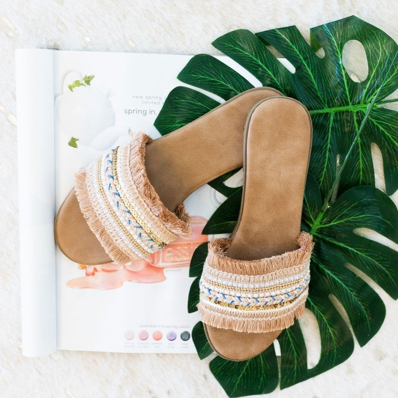 Let's Make a Statement Sandal