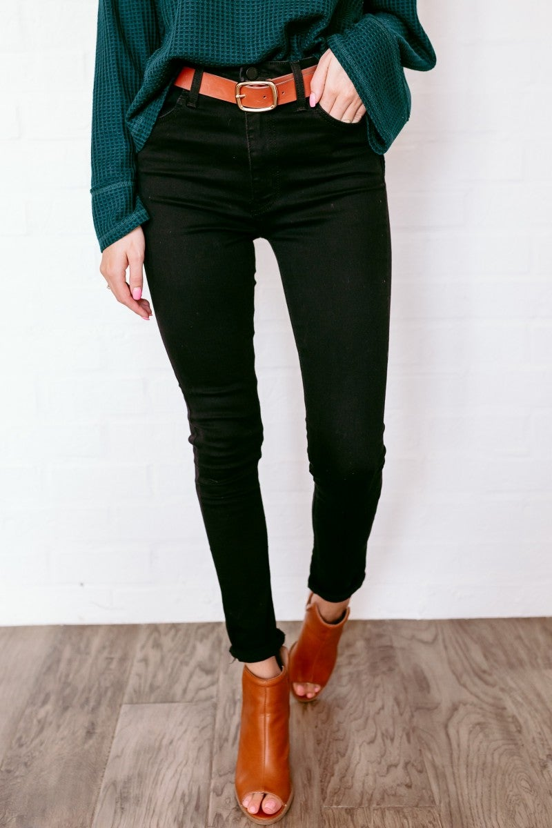 Night out Denim in Black