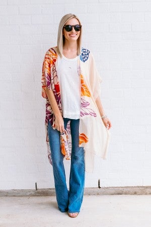 Lilly of the Valley Kimono