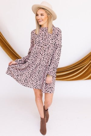 Spotted You Dress