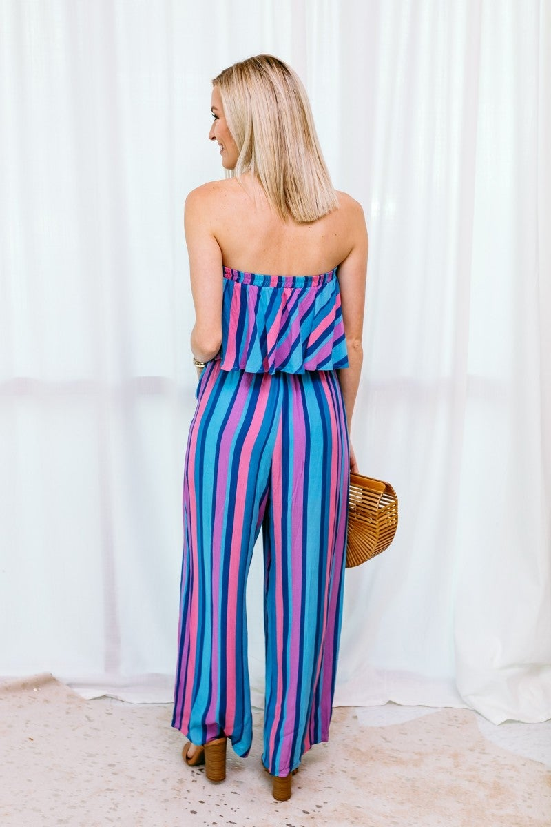 Off to the Resort Jumpsuit
