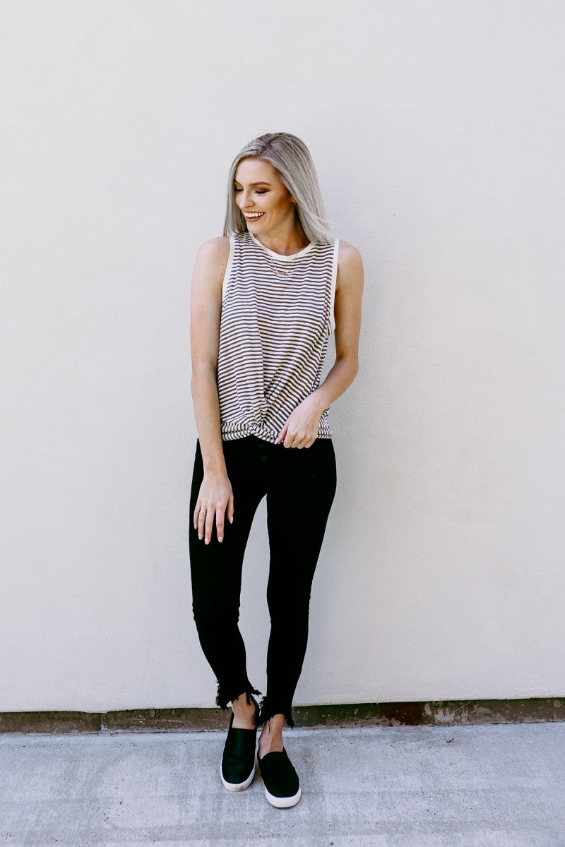 Sailing Away Striped Top