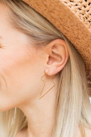 Strike Two Earring