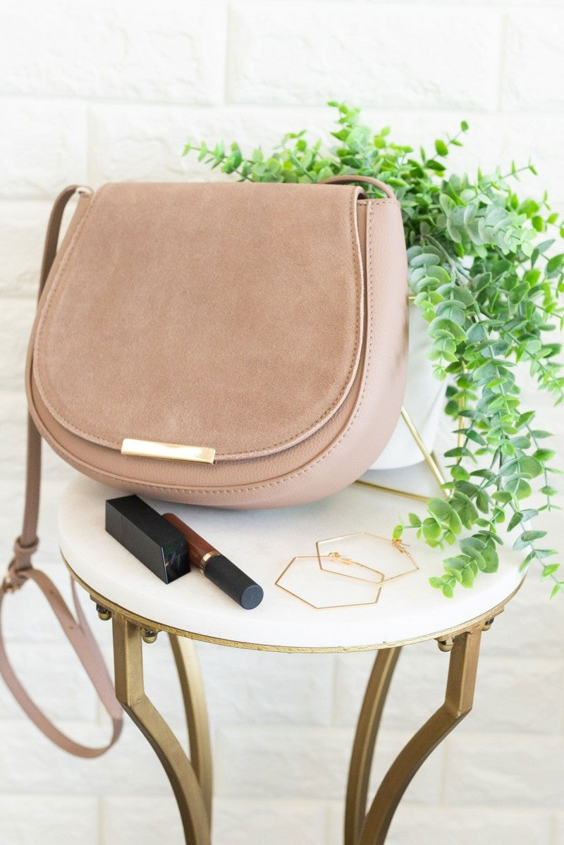 Suede All Day Purse