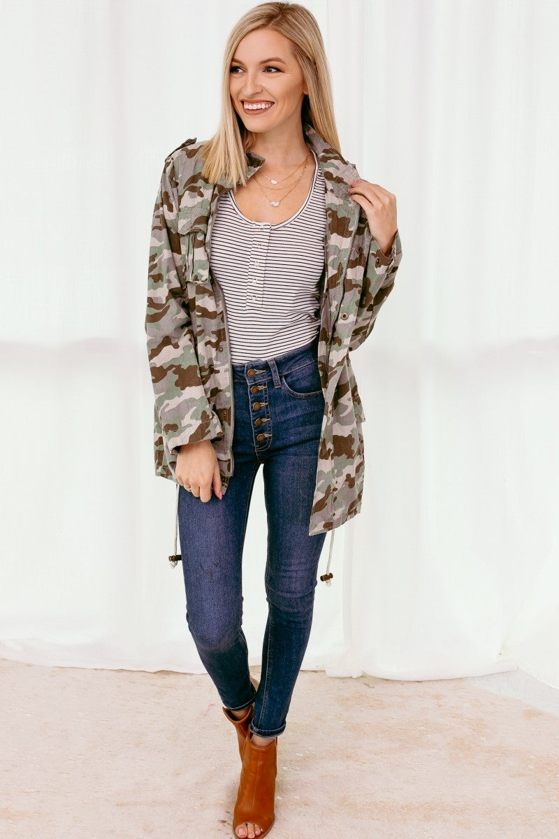 In Hiding Camo Jacket