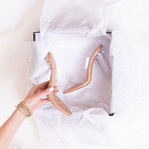 Clear as Day Heels