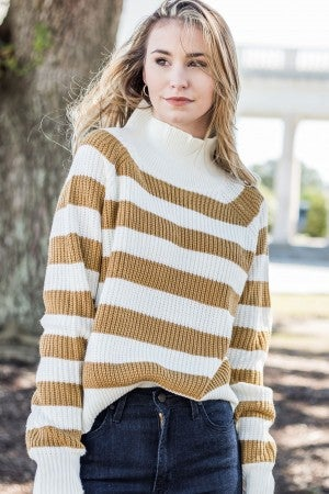 Must Be Nice Striped Sweater