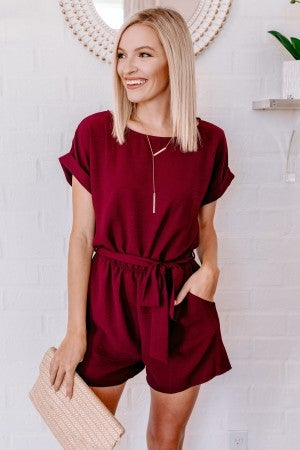 Winding Down Romper
