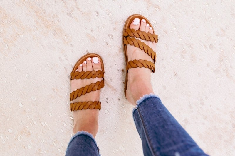 Braid My Day Sandal