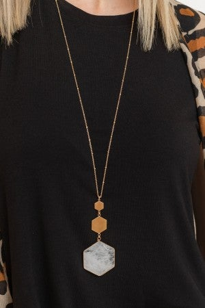 Shape Up Necklace
