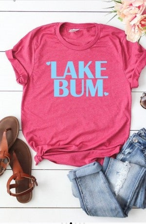 Lake Bum Graphic Tee