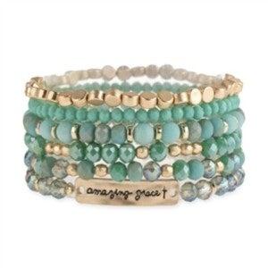 Amazing Grace multi stretch bracelet