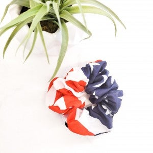 Americana Scrunchie