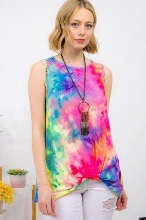 Rainbow Tye Dye tank