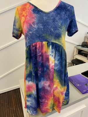 Crayon Babydoll dress