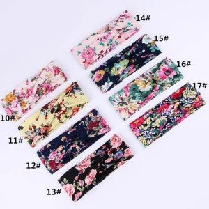 Mystery Floral Headband  2 Pack