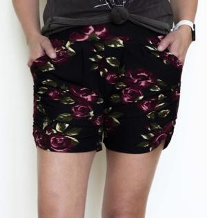 Love Me Some Floral Harem Shorts