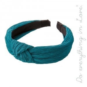 The Essential Knotted Pleated Headband