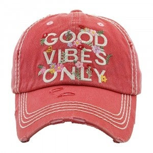 Good Vibes Only Cap