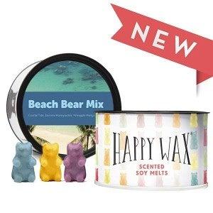 Happy Wax 3.6 oz Mix & Melt Tin- Variety of Scents