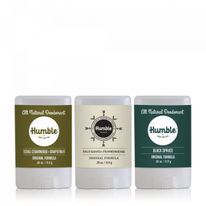 HUMBLE 4 Ingredient Deodorant Travel Size
