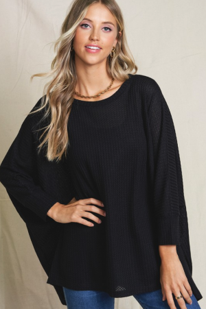 Thermal Dolman Blouse